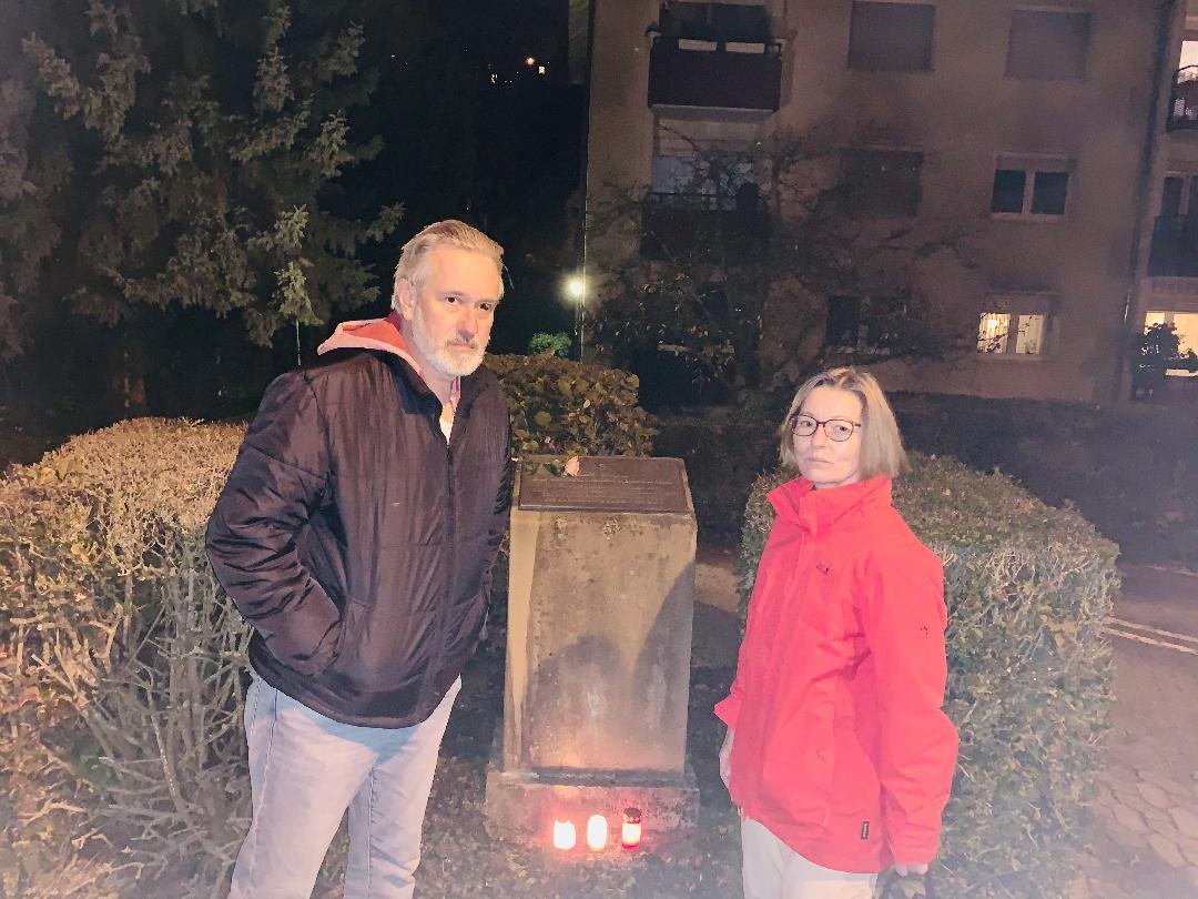 Bad Sodener Grüne gedenken der Opfer vom 10. November 1938