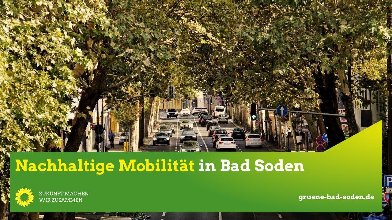 Nachhaltige Mobilität in Bad Soden
