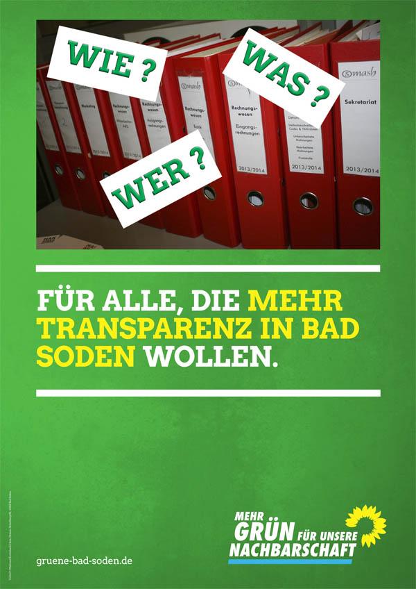 Plakate basteln am Wahlstand !