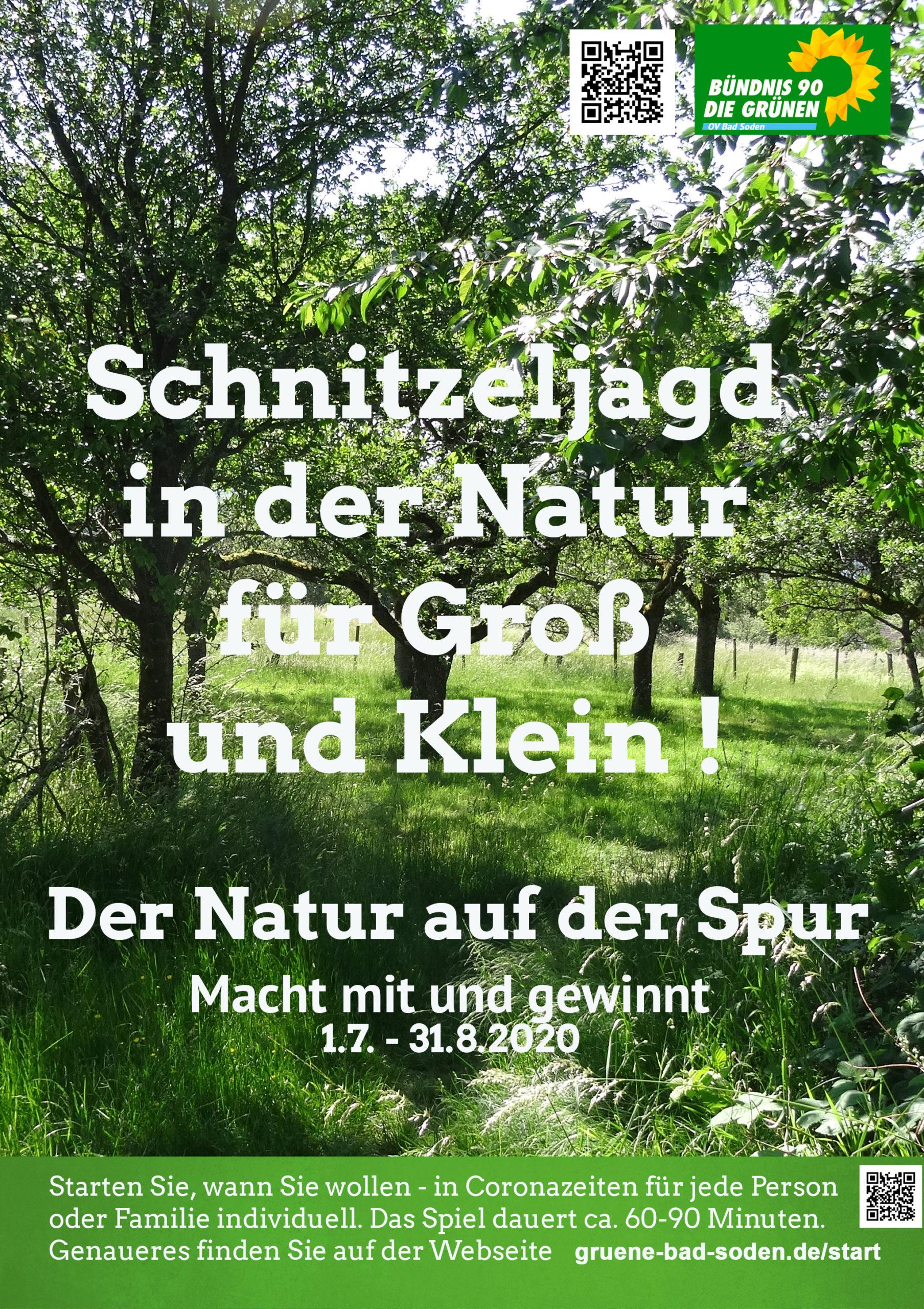 Schnitzeljagd für Groß und Klein: Der Natur auf der Spur!
