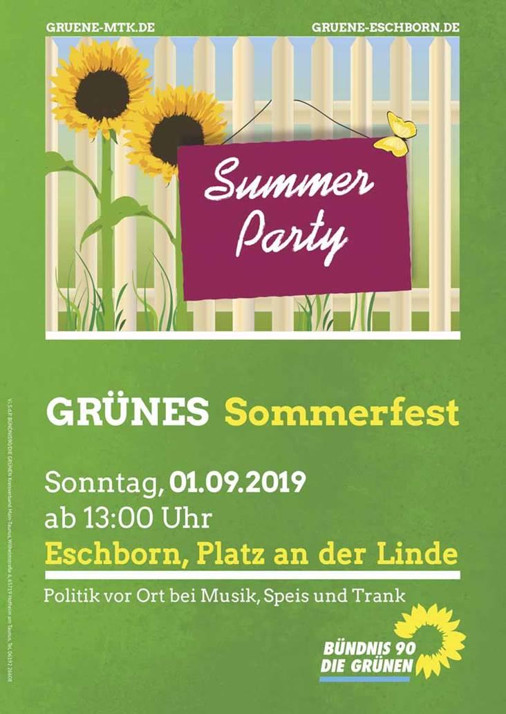 Einladung zum grünen Sommerfest