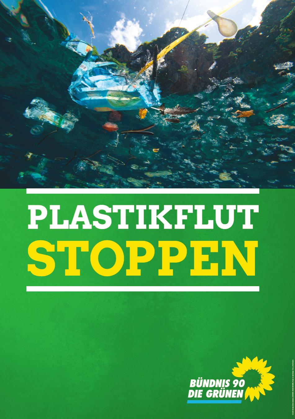 Plastikmüll-Stand auf dem Neuenhainer Herbstmarkt